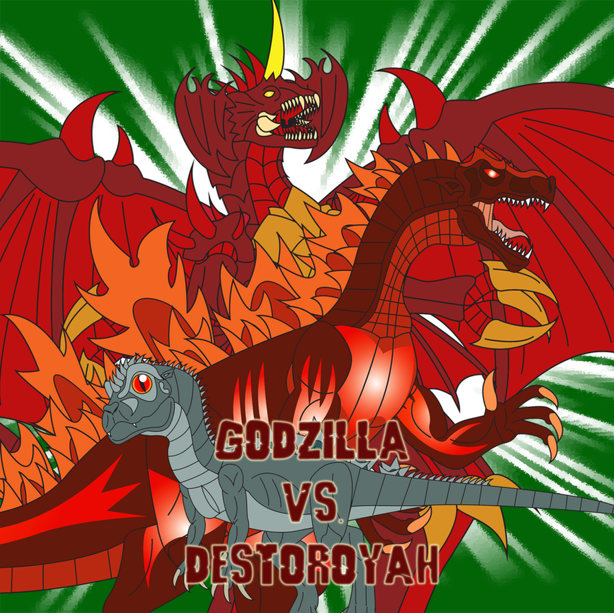 Godzilla vs. Destoroyah by Daizua123