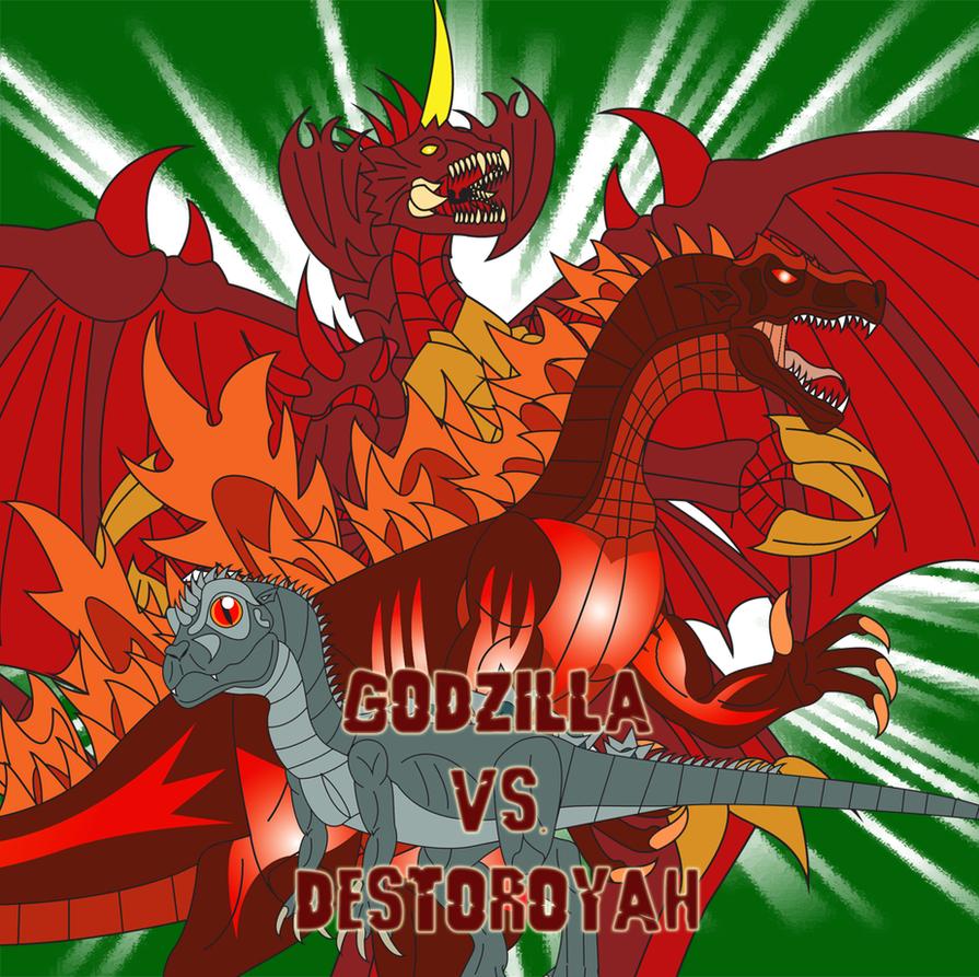 Godzilla vs. Destoroyah by Daizua123 on DeviantArt