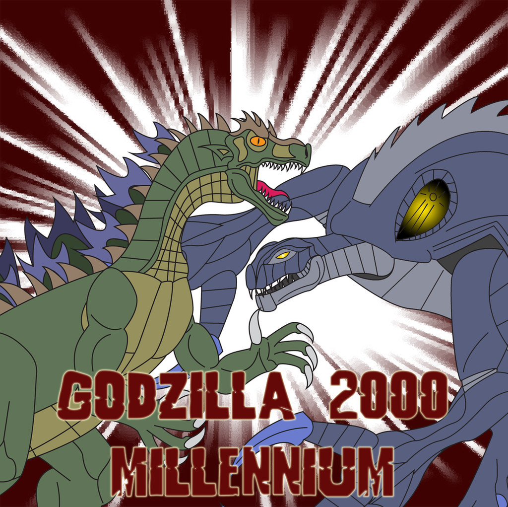 Godzilla 2000 - Millennium by Daizua123 on DeviantArt
