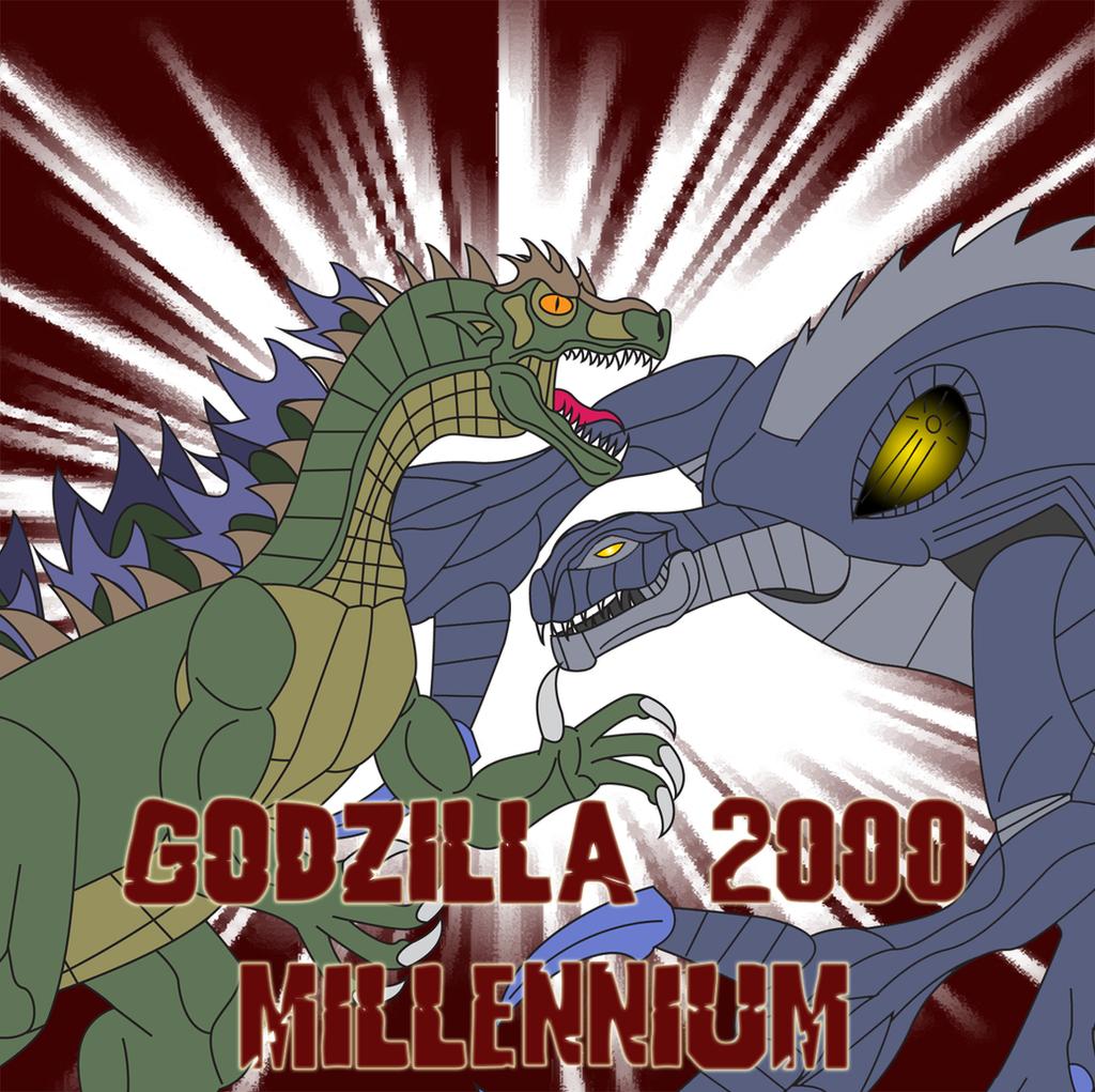 Godzilla 2000 - Millennium by Daizua123 on DeviantArt