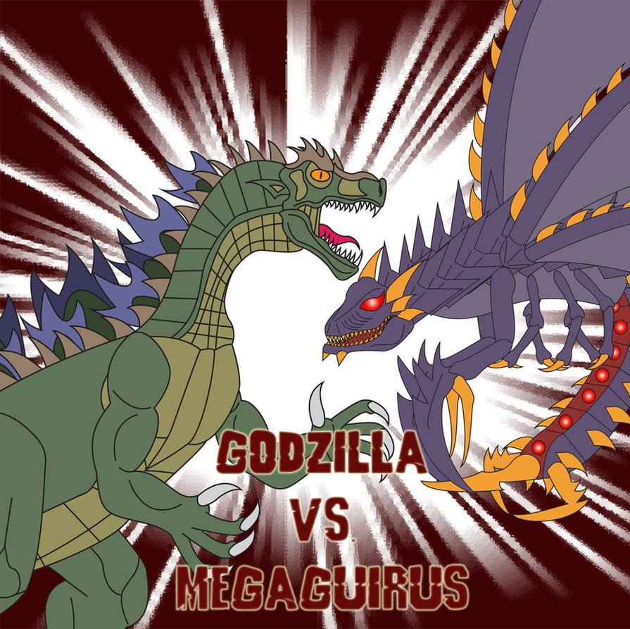 Godzilla vs  Megaguirus by Daizua123Godzilla 2000 Vs Megaguirus