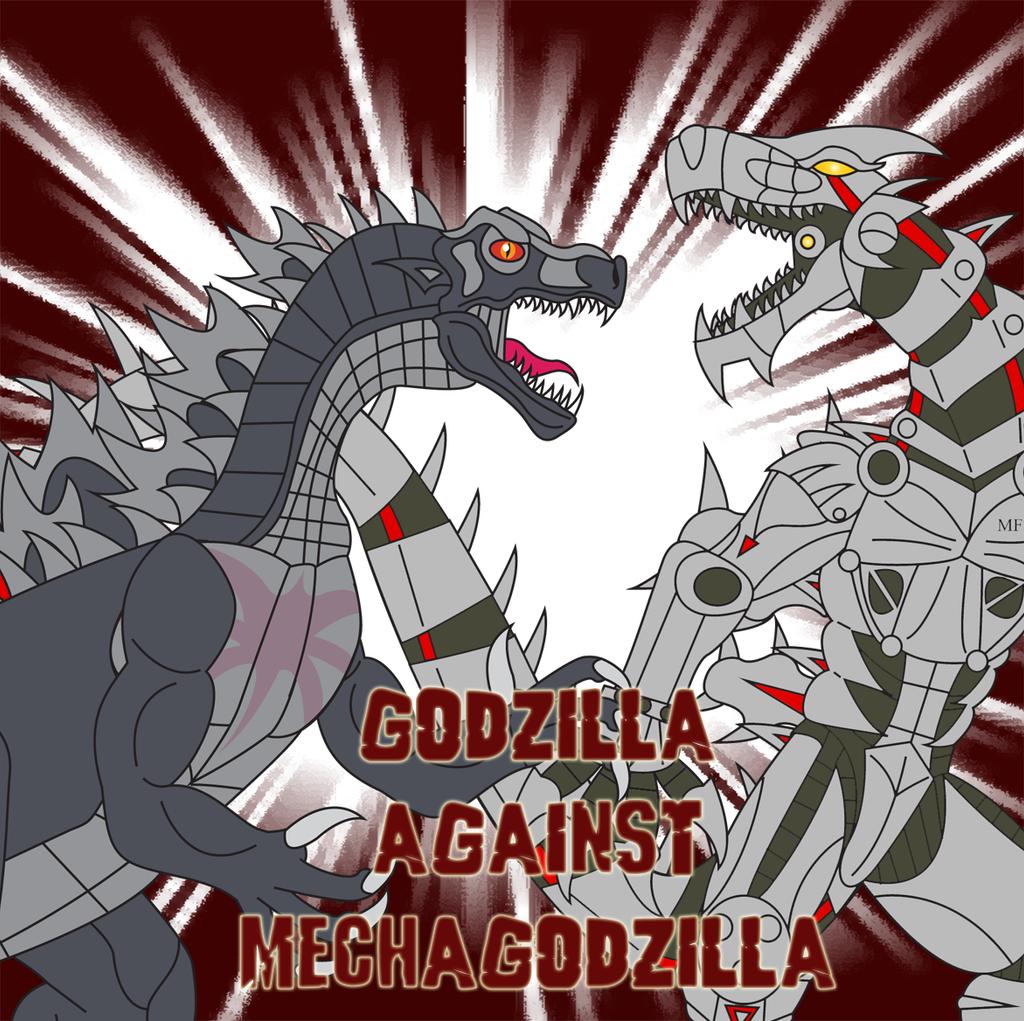 Godzilla Against Mechagodzilla by Daizua123