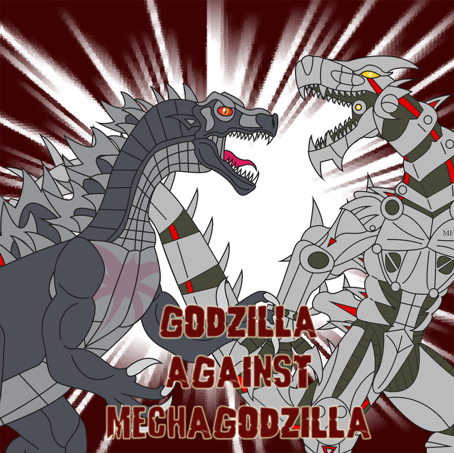 Godzilla Against Mechagodzilla by Daizua123