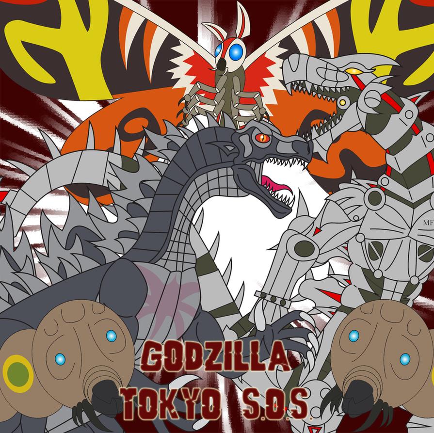 Godzilla - Tokyo SOS by Daizua123