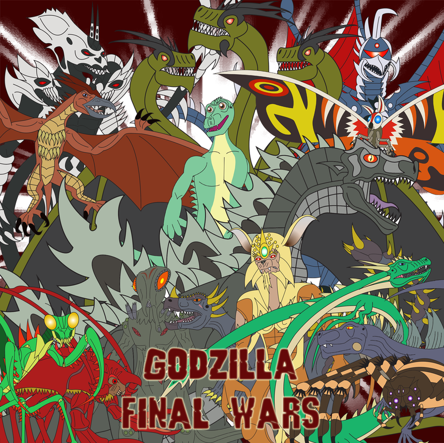 Godzilla - Final Wars by Daizua123