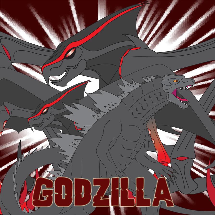 Godzilla by Daizua123