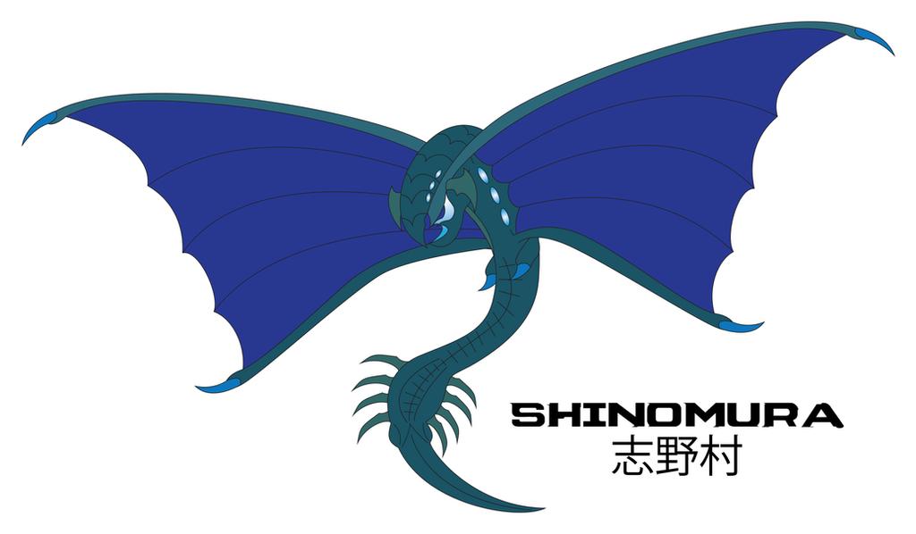 Kaiju Awakened - SHINOMURA by Daizua123