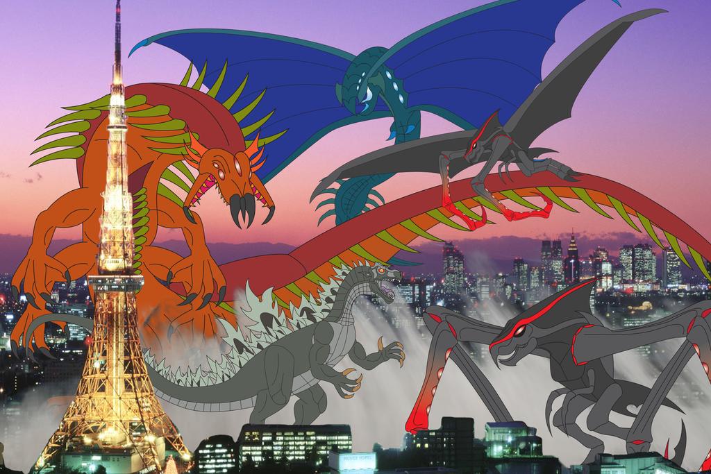 Legendary Showdown by Daizua123