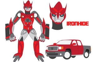 Transformers Neo - IRONHIDE by Daizua123
