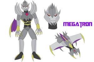 Transformers Neo - MEGATRON by Daizua123