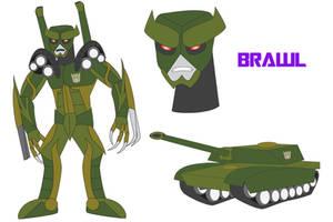 Transformers Neo - BRAWL by Daizua123