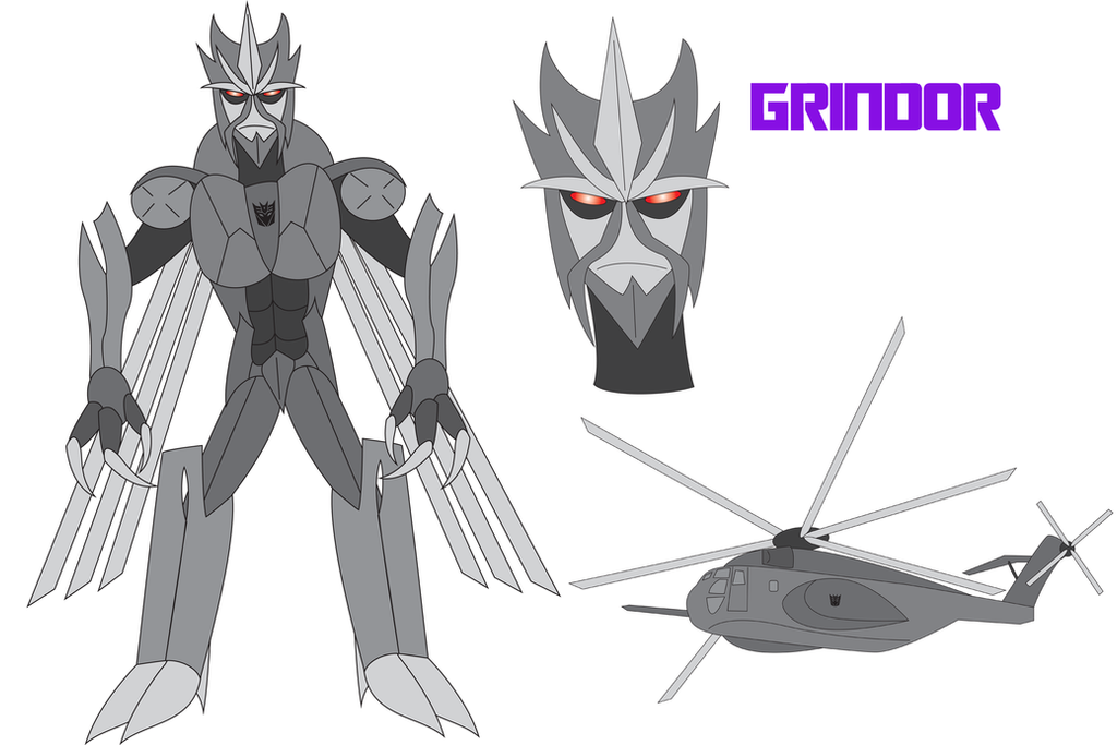 Transformers Neo - GRINDOR by Daizua123 on deviantART