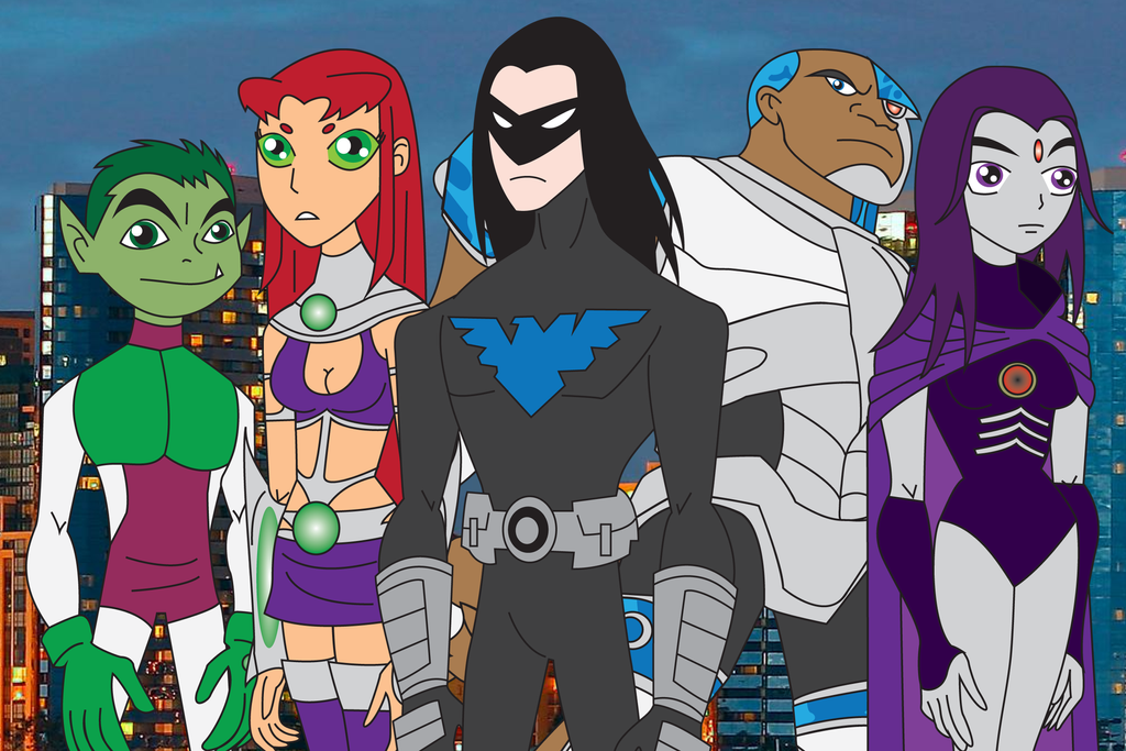 Adult Teen Titans By Daizua123 On Deviantart-2915