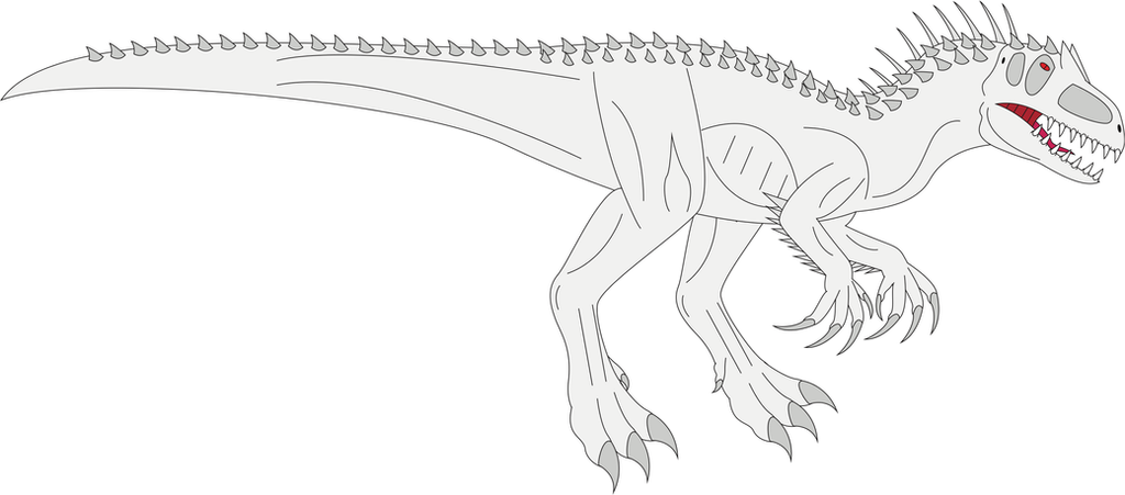 Indominus Rex - Free Coloring Pages