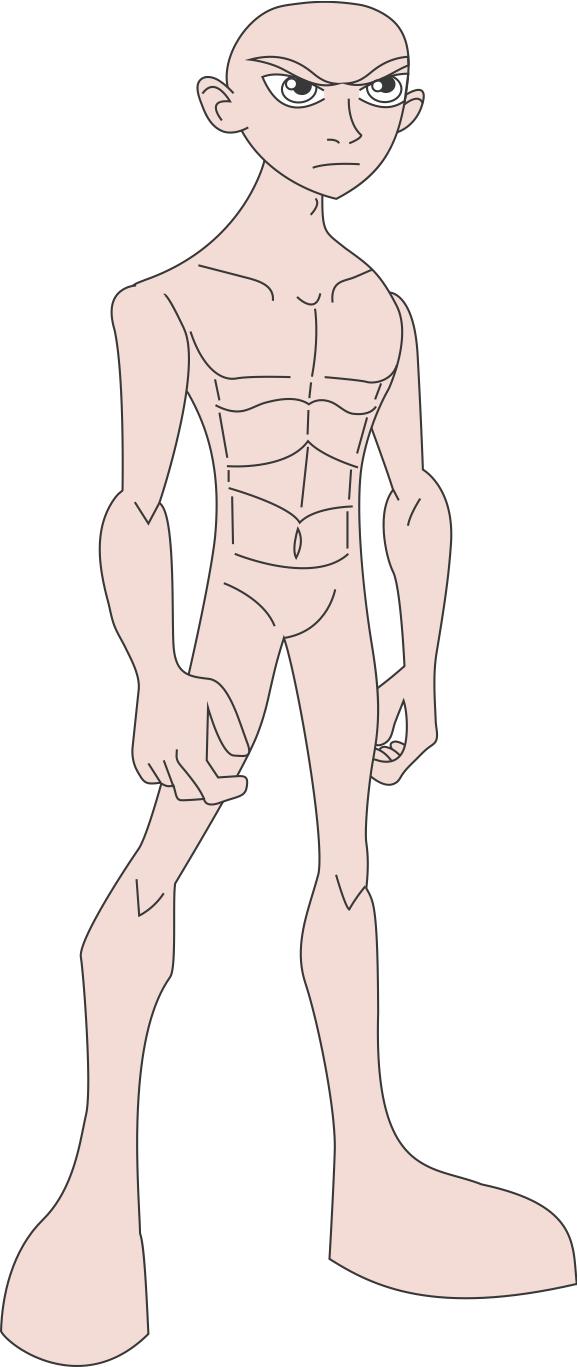 anime male base - 578×1367