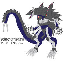 Vastatotherium by Daizua123