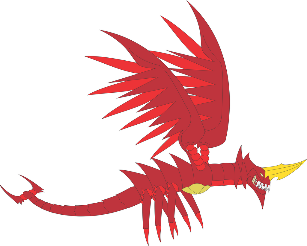 Destoroyah Concept (Flying Form) by Daizua123 on DeviantArt