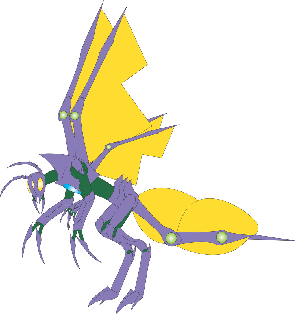 Lightning Bug Concept by Daizua123 on DeviantArt