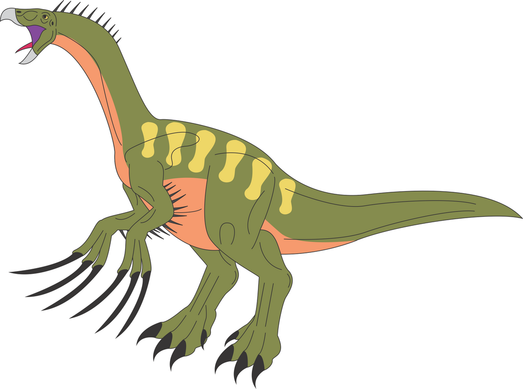 Prehistoric World - Therizinosaurus by Daizua123 on DeviantArt