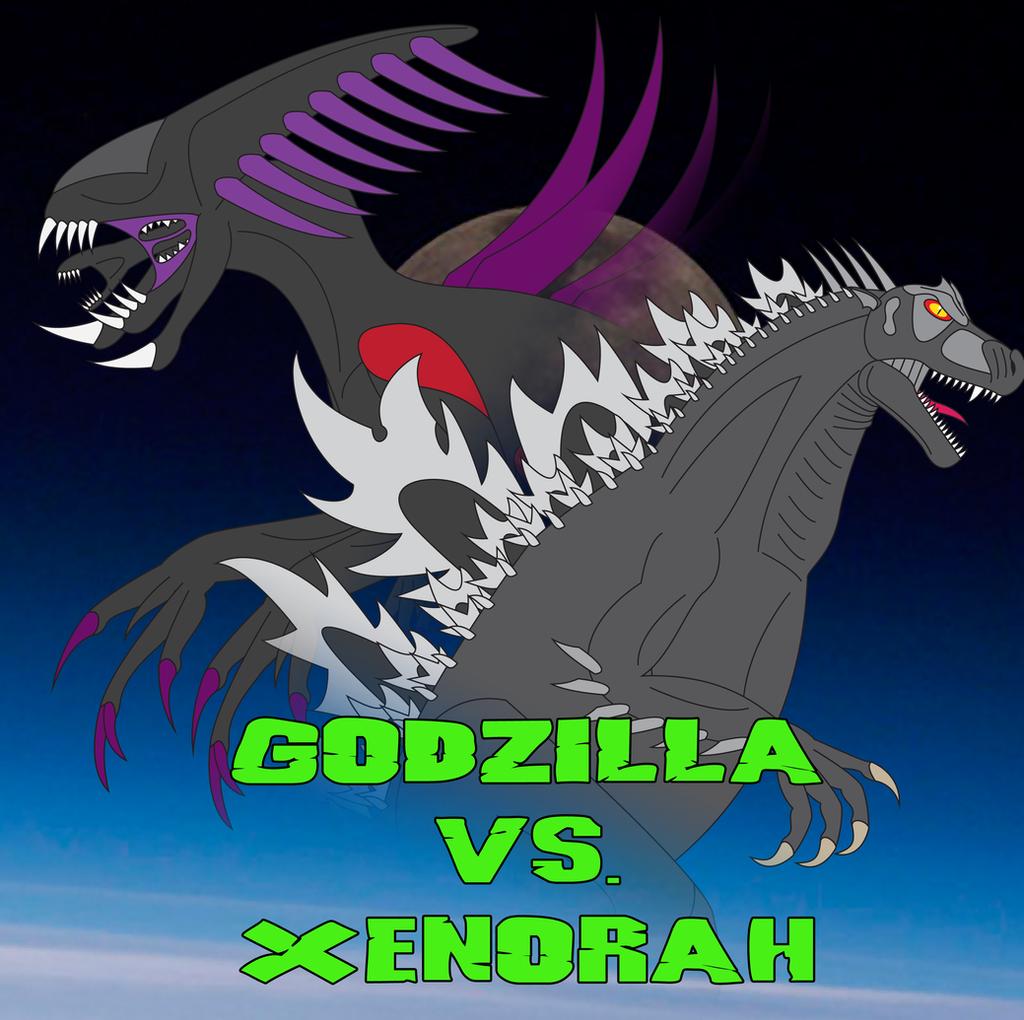 Godzilla vs. Xenorah poster by Daizua123 on DeviantArt