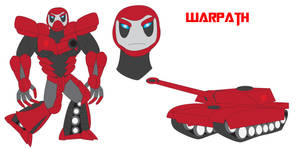 Transformers Neo - WARPATH by Daizua123