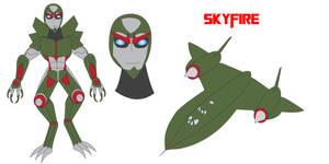 Transformers Neo - SKYFIRE by Daizua123
