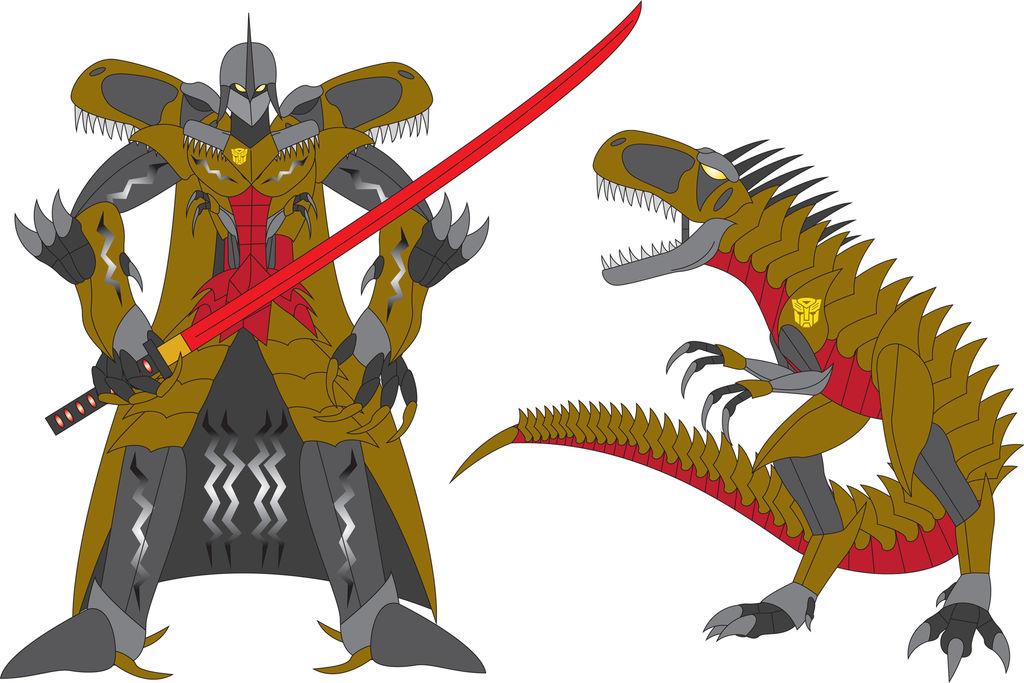 Escalation Grimlock (Revised) by Daizua123