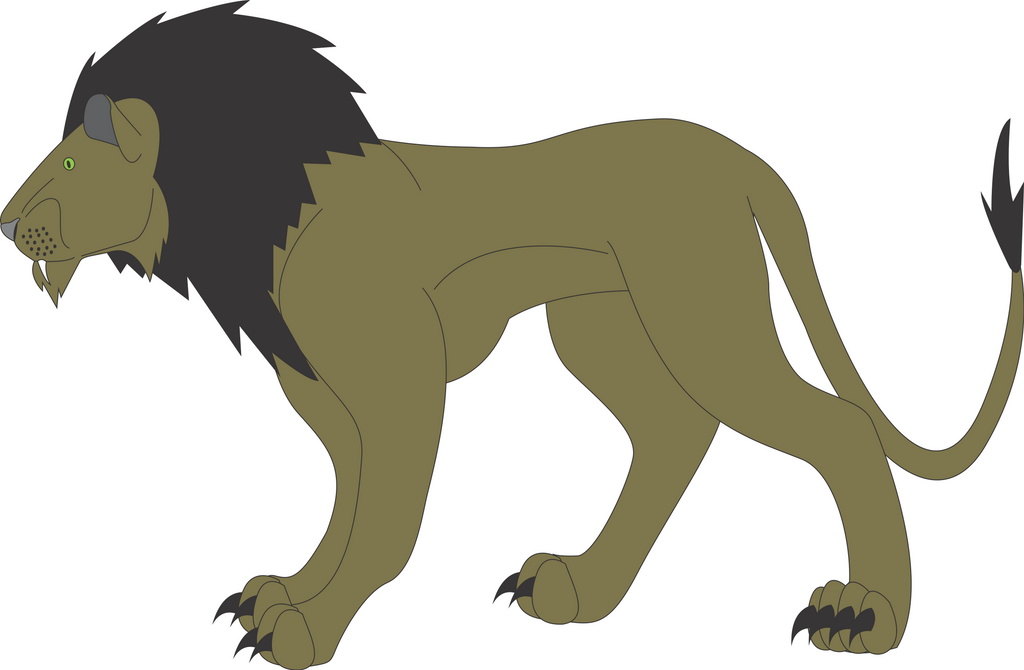 Nemean lion drawing - photo#24