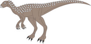 Prehistoric World - Scutellosaurus