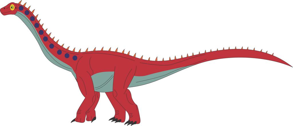 Titanosaurus By Daizua123 On DeviantArt