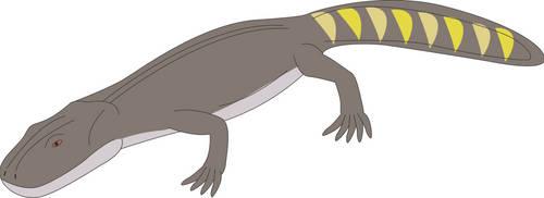 Prehistoric World - Metoposaurus by Daizua123