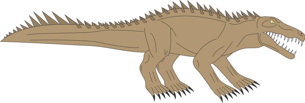 Prehistoric World - Notosuchus by Daizua123