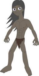 Prehistoric World - Homo erectus by Daizua123