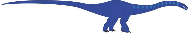 Prehistoric World - Barosaurus by Daizua123