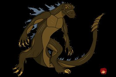 Alpha Godzilla by Daizua123