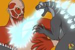Godzilla vs. Colossal Titan