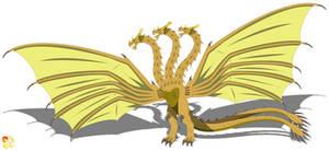 Cerasini King Ghidorah (Revised)