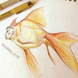 Goldfish by MakTanak