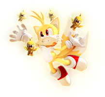 :Recolor: Super Tails by Sonitles