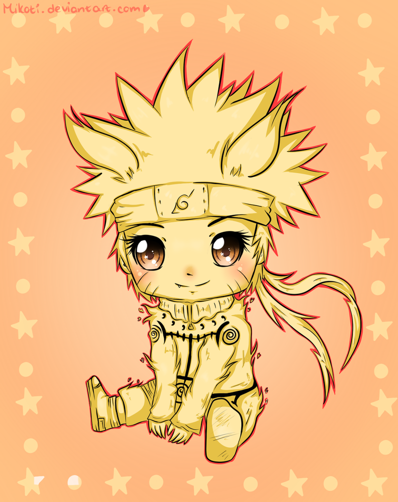 Chibi Naruto by Mikoti on DeviantArt