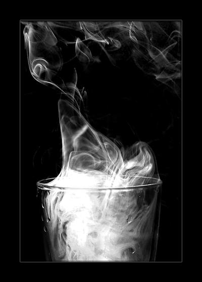 Smoke 5   black and white by 4420 Digital Smoke Art and Photography