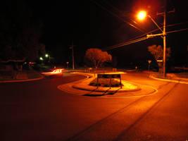 Suburban Night - Orange by nitemice