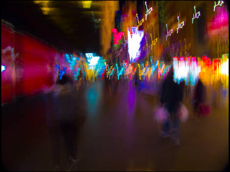 Colourful City Life