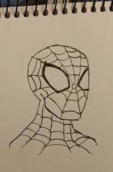 Spider-Man Sketch (Uncoloured)