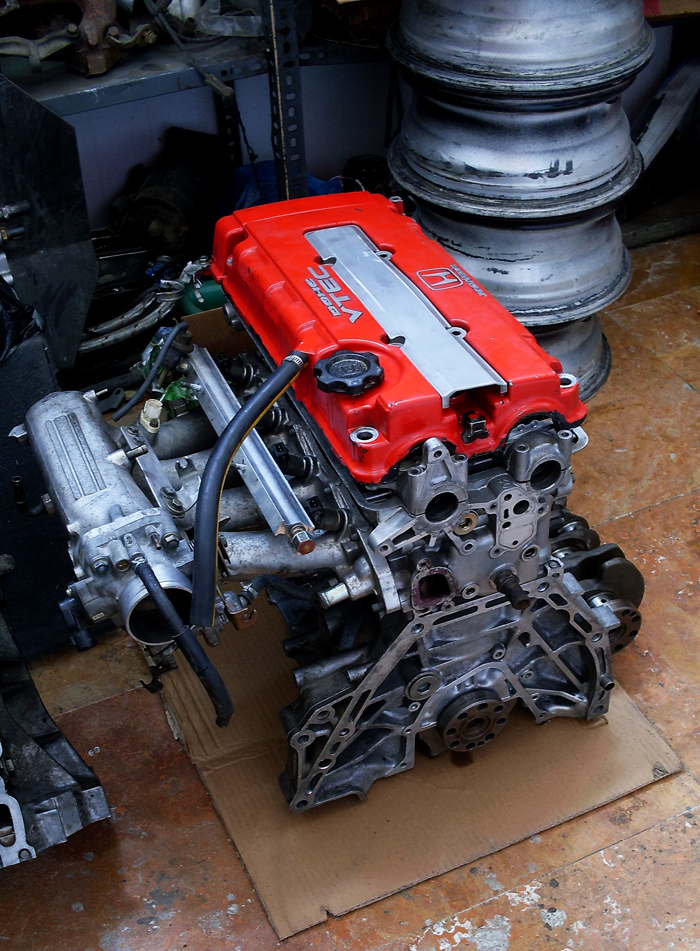 B20 vtec Engine by tymu on DeviantArt