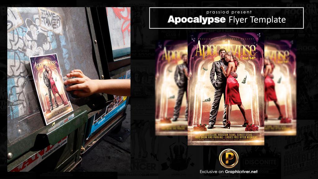 Apocalypse Flyer Template by prassetyo