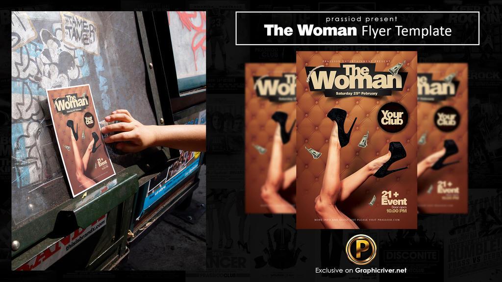 The Woman Flyer Template by prassetyo
