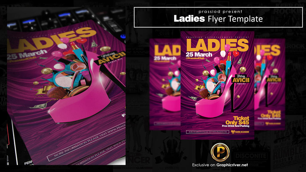 Ladies Flyer Template by prassetyo