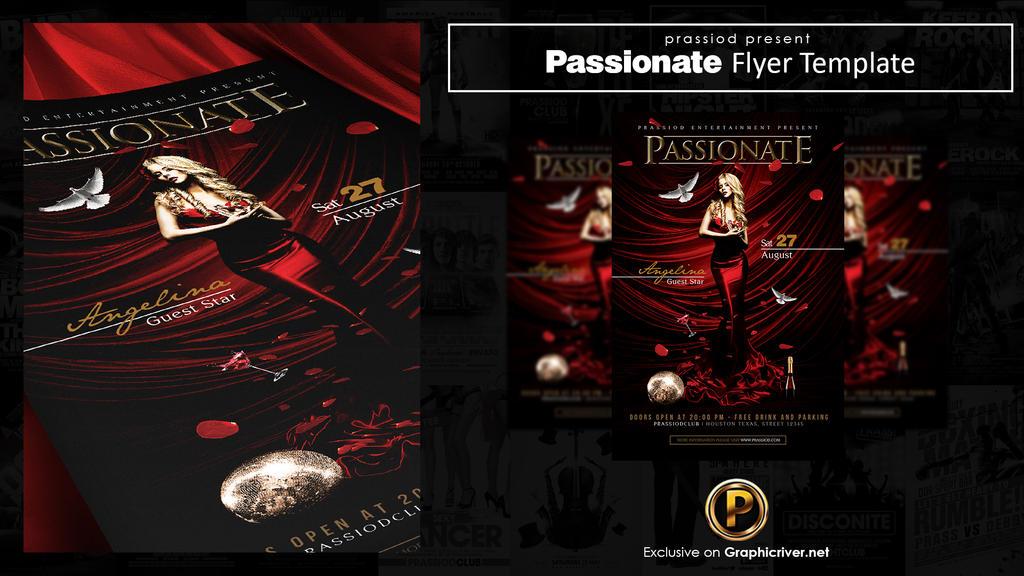 Passionate Flyer Template by prassetyo