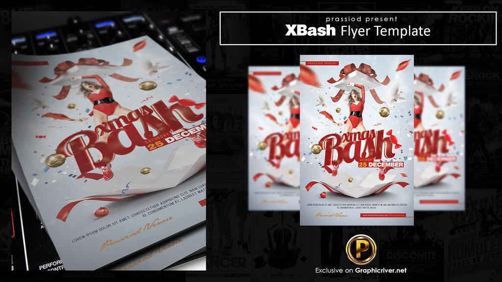 XBash Flyer Template by prassetyo